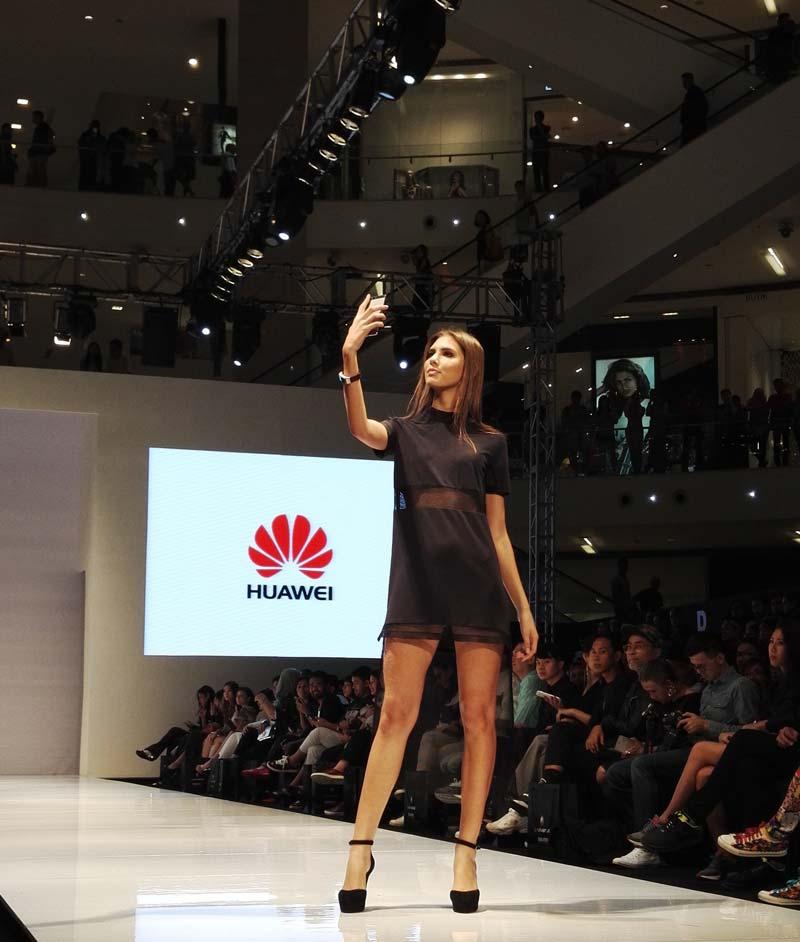 Huawei at KL Fashion Week 2015