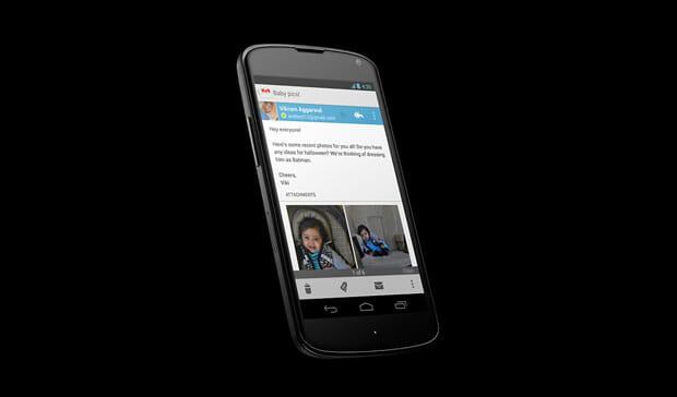 Google Nexus 4. Image credit: Google
