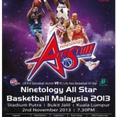 [Giveaway] Ninetology All Star Basketball Malaysia 2013 Ticket Winners #xballer