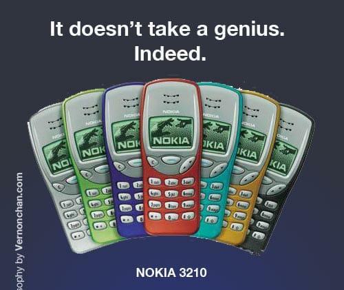 Samsung vs Apple. Nokia Wins. By Vernonchan.com