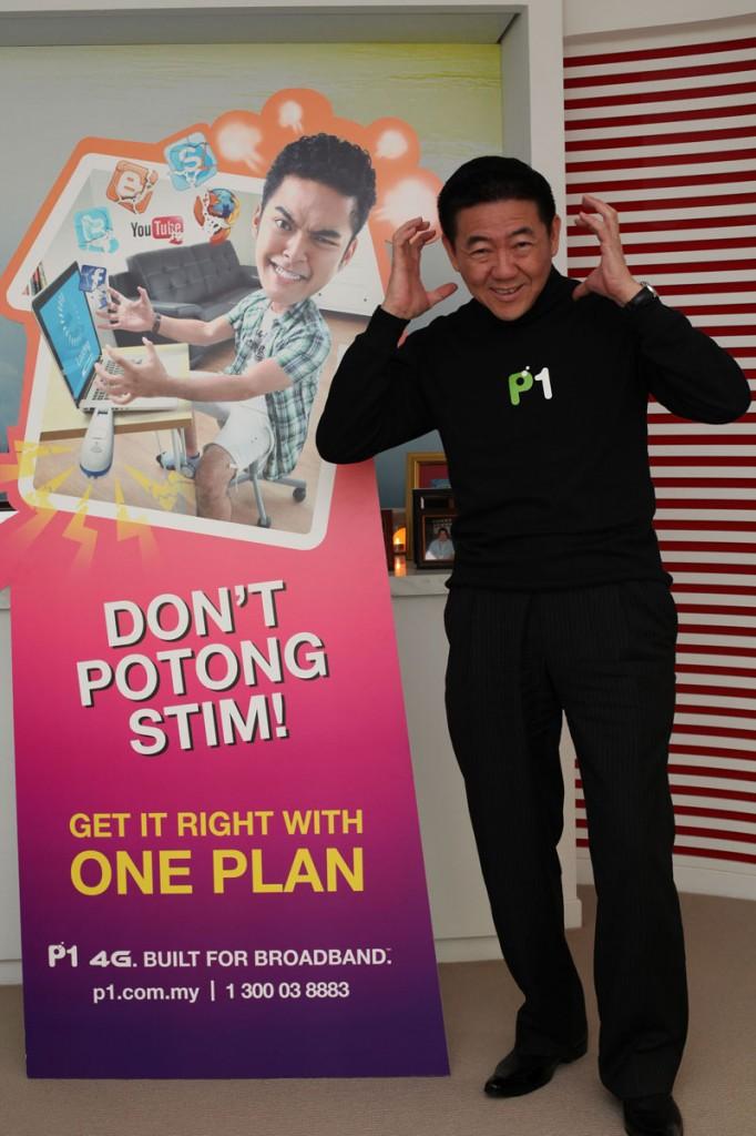 P1 CEO Michael Lai launches ONE 69 Plan & Lagi Potong Stim campaign-LR
