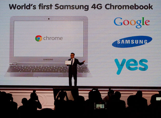 YES Launches World's First Samsung 4G Chromebook in Malaysia