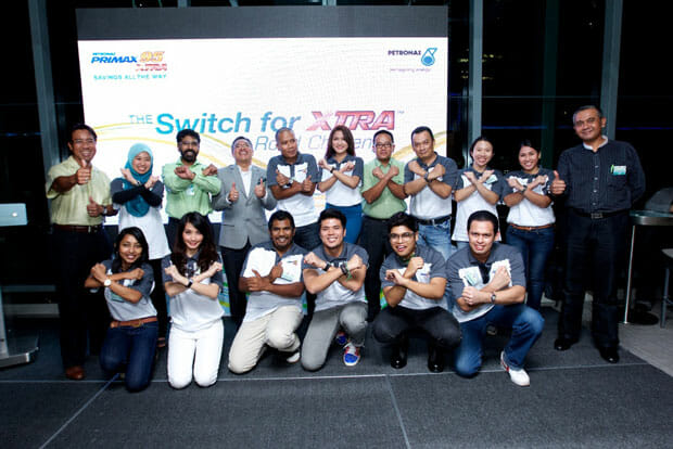 Team FBI Wins PETRONAS Switch for XTRA Road Challenge