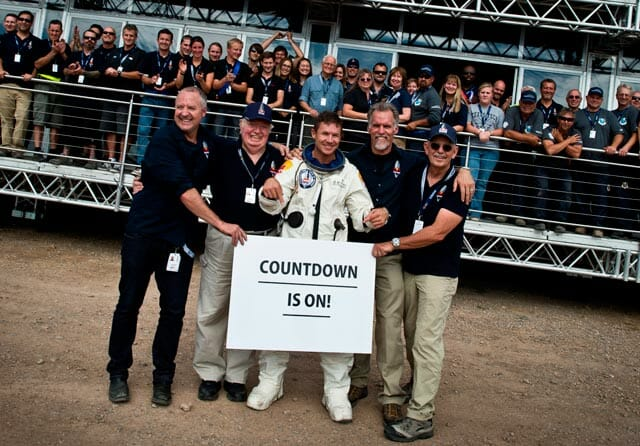 Red Bull Stratos Mission's Historic Freefall Jump Postponed