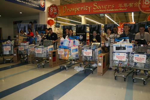 HP Ho-Ho-Yeh Supermarket Sweep