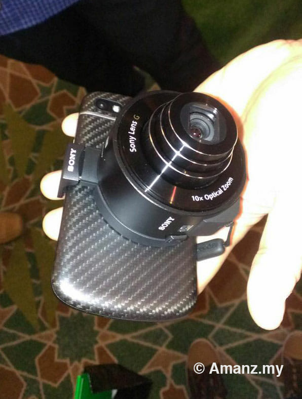 QX10 on a Q10. The first image tweeted by Amanz.my