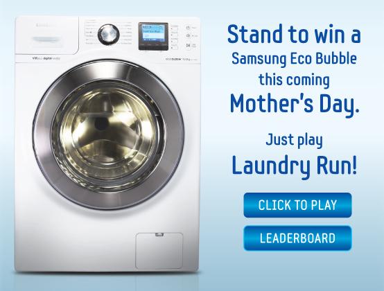 Samsung Eco Bubble game
