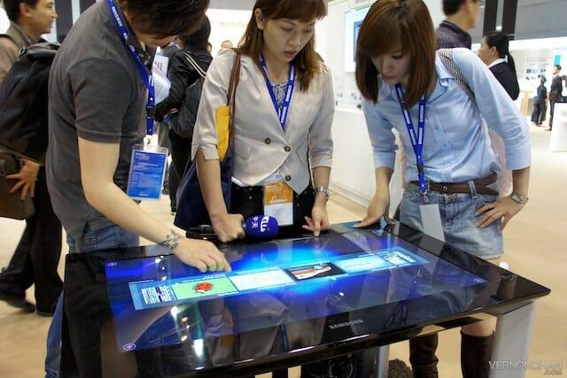 Samsung SUR40 @ Samsung Forum Asia 2012
