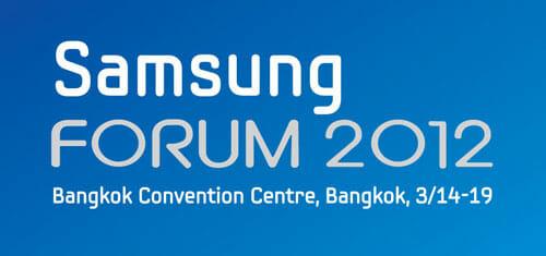 Samsung Forum 2012 thumb