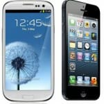 Apple iPhone 5 and Samsung GALAXY S III Compared