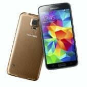 Samsung GALAXY S5 goes gold and electric blue