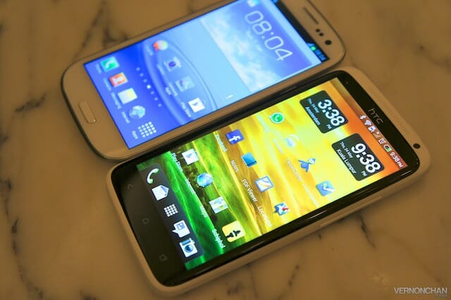 Samsung Malaysia launches the GALAXY SIII superphone to members of the media.