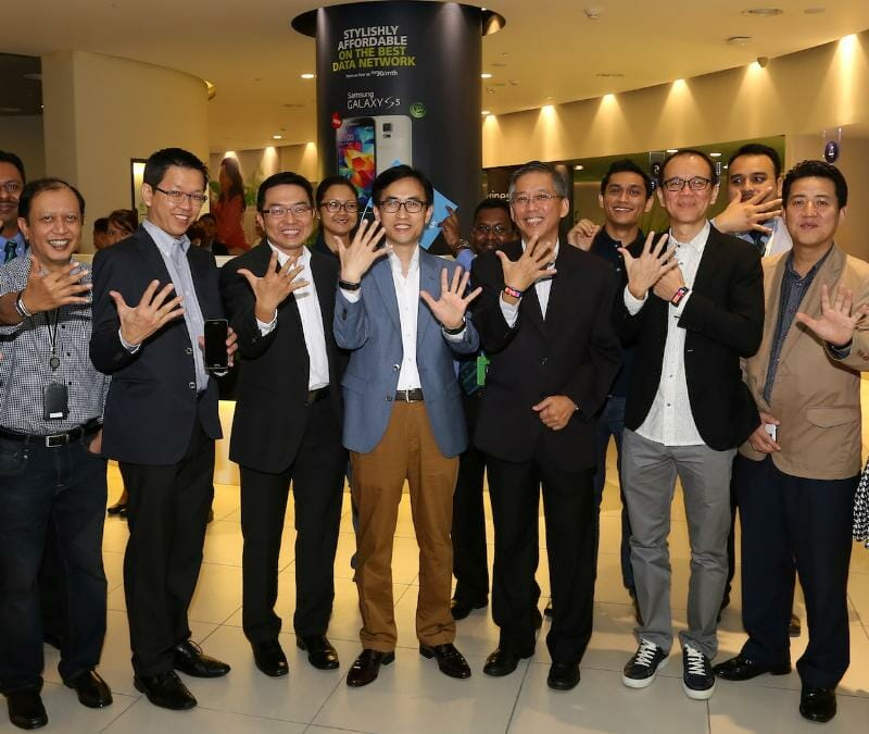 Samsung GALAXY S5 consumer launch