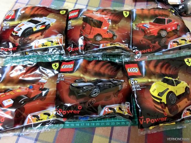 Shell LEGO Ferrari 4