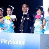 The PS Vita, in six colours.