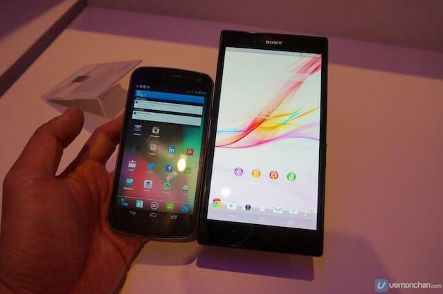 Sony Xperia Z Ultra 12