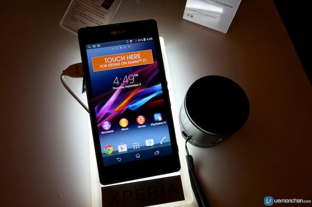 Sony Xperia Z1 Launch 1