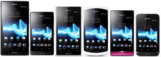Sony Xperia family