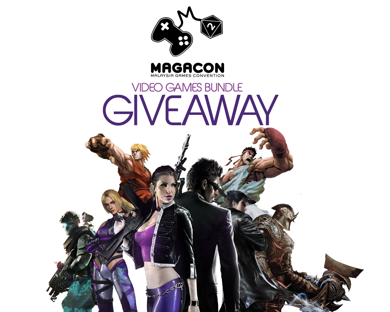 MaGaCon giving away Video Games