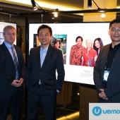 Jon Robertson, VMware ASEAN;  Laurence Si, VMware Malaysia; and Sze-Lun Chew, VMware ASEAN