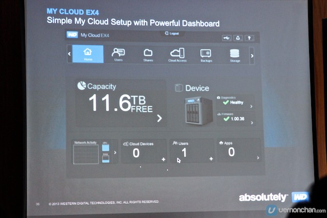 WD Introduces WD My Cloud EX4 Four-Bay NAS Solution