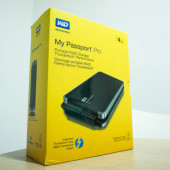 [Unboxing] WD My Passport Pro: World's first portable Thunderbolt dual-drive