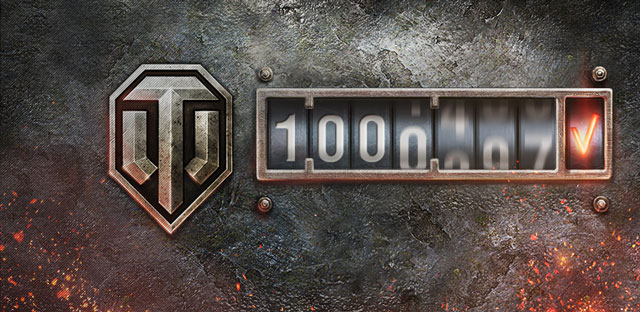 1 Million: World of Tanks Sets Highest Concurrent User Record