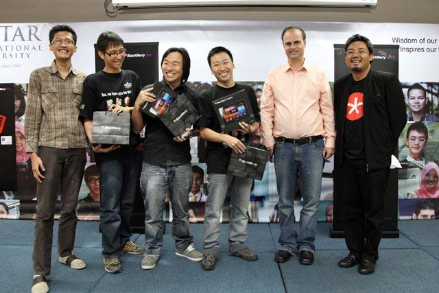 Websmith ATP Sdn Bhd Winner of BlackBerry JamHack 2012