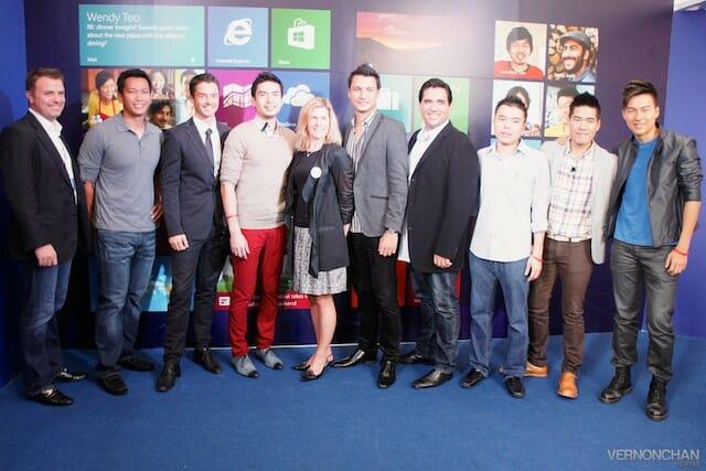 Windows 8 Launch Singapore