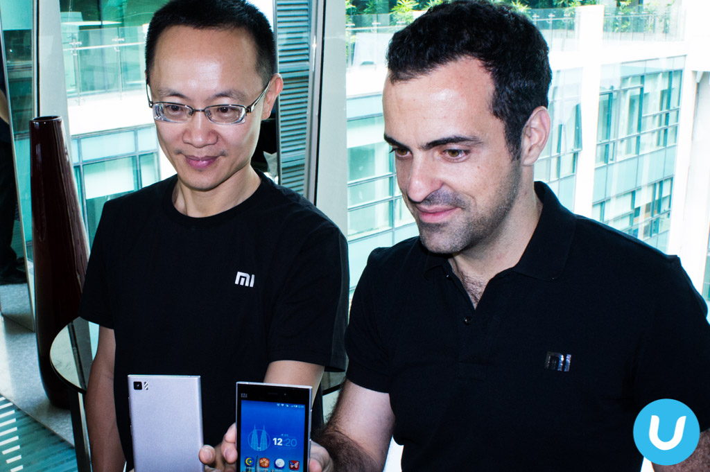 Xiaomi Bin Lin and Hugo Barra