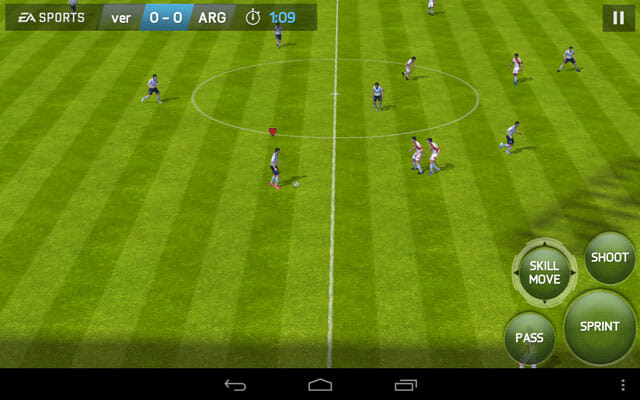 Yoga Tablet 8 running FIFA 14