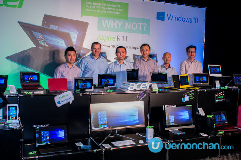 Acer Aspire R 11 – first Windows 10 pre-installed device now in Malaysia