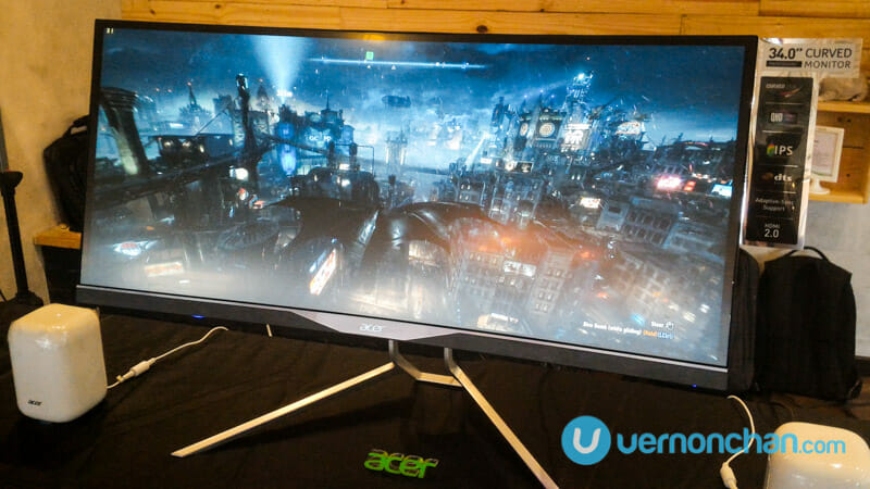 Stunning Acer XR341CK curved monitor hits Malaysian shores