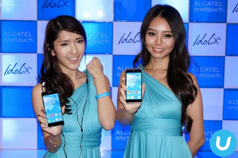Alcatel OneTouch Idol X+ launch