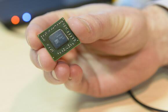 AMD Temash APU. Image credit: PCWorld