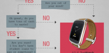 ASUS ZenWatch vs Apple Watch