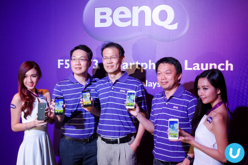 BenQ F5 and T3 smartphones debut in Malaysia