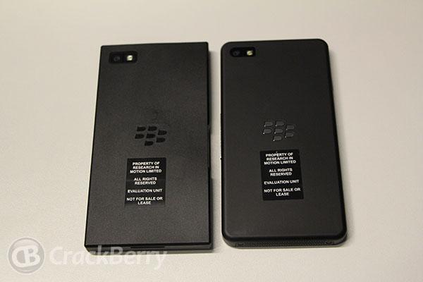 BlackBerry Dev Alpha A and B. Image credit: Crackberry