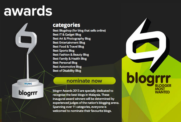#blogrrr Awards 2013 – Official Full Winners List