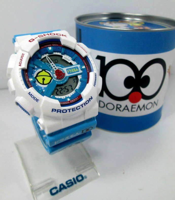 Here's a shocker: Limited edition G-SHOCK X Doraemon GA-110 is a fake
