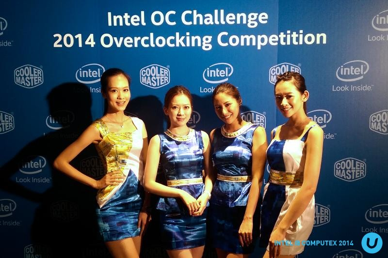 "Intel OC Challenge @ Computex 2014: New world overclocking record with Intel ""Devil's Canyon"""