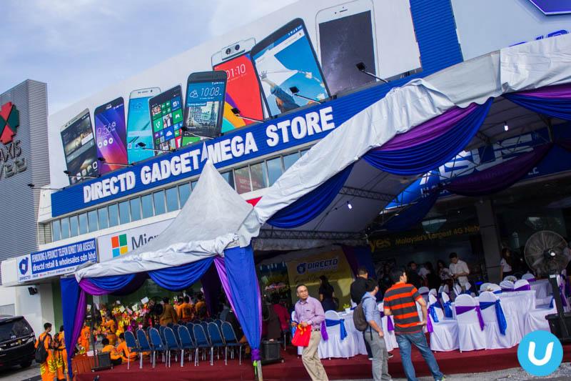 Directd goes big with directd gadget mega store sciox Choice Image