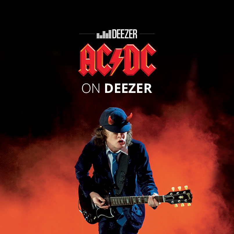 "Let's get on the ""Highway to Hell"": AC/DC rocks Deezer"