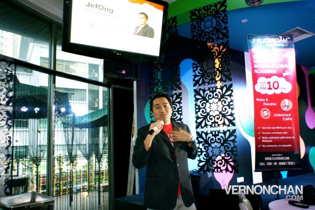 Flexiroam CEO Jef Ong