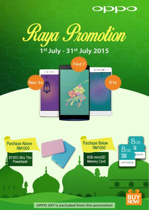 OPPO Ramadan promo
