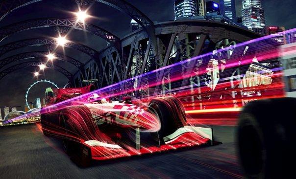 Roam Free with U Mobile at Singapore F1 GP
