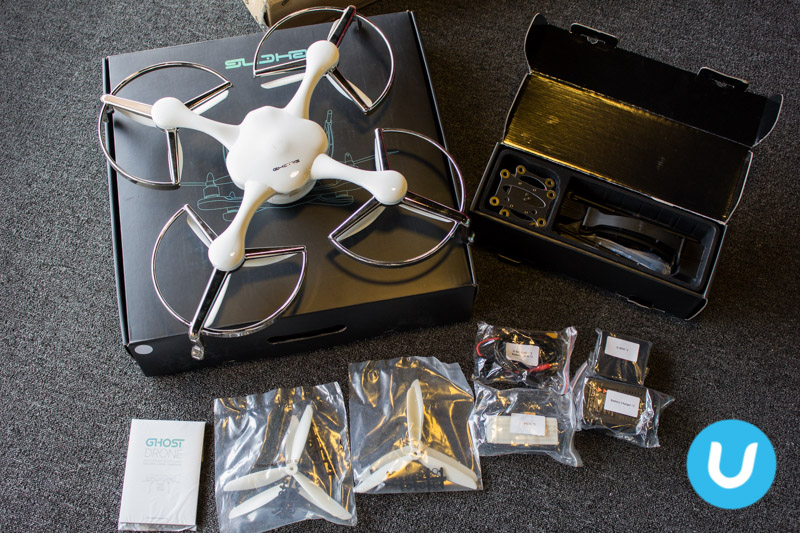 Ghost Drone Aerial unboxing