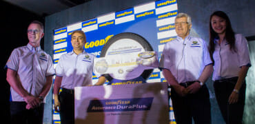 Goodyear launches Assurance DuraPlus tire in Malaysia, built to go up to 100,000km