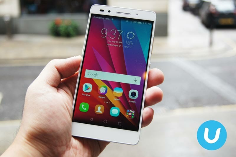 honor 7 makes its international debut in London