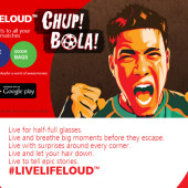 Get front row seats watching football matches with Hotlink 'Chup Bola'